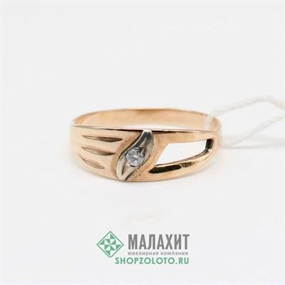 Кольцо из золота 2,02 гр., 17 размер