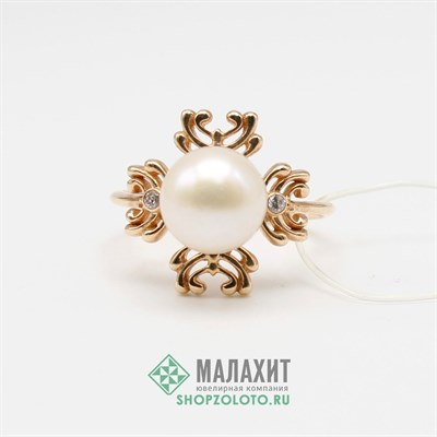 Кольцо из золота 3,54 гр., 17,5 размер