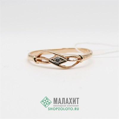 Кольцо из золота 1,2 гр., 17,5 размер