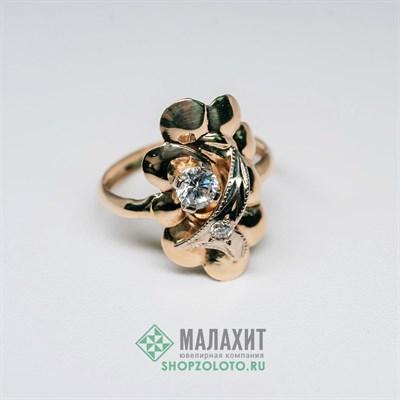 Кольцо из золота 1,42 гр., 17,5 размер