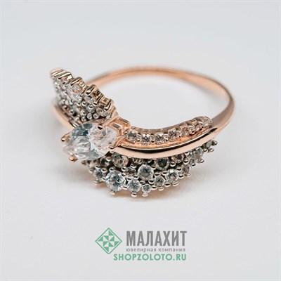 Кольцо из золота 3,57 гр., 18 размер