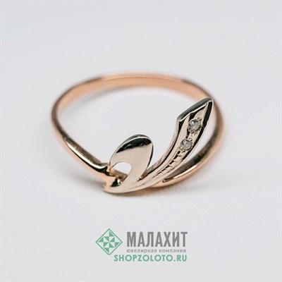 Кольцо из золота 1,6 гр., 16,5 размер