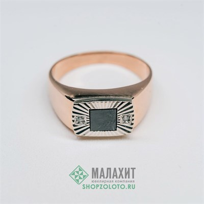 Кольцо из золота 4,59 гр., 18,5 размер