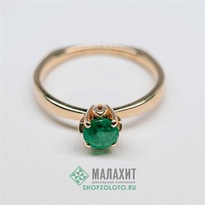 Кольцо из золота 2,12 гр., 16 размер