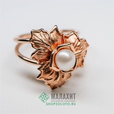 Кольцо из золота 6,36 гр., 19 размер
