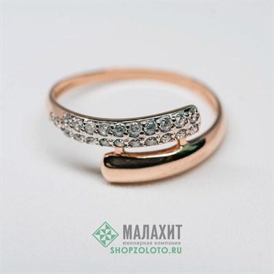 Кольцо из золота 1,49 гр., 17 размер