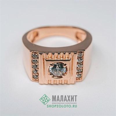 Кольцо из золота 7,64 гр., 17 размер