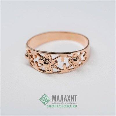Кольцо из золота 1,59 гр., 16,5 размер