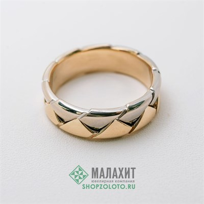 Кольцо из золота 9,73 гр., 21 размер