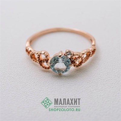 Кольцо из золота 1,23 гр., 15,5 размер