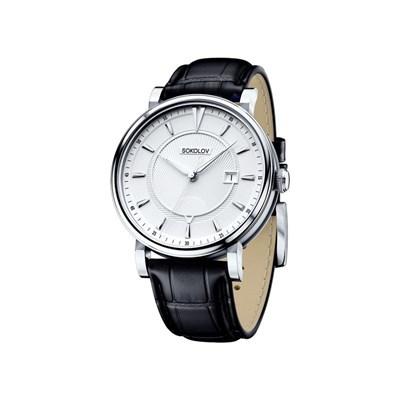 Мужские серебряные часы SOKOLOV
