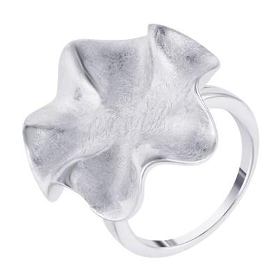 Крупное кольцо из серебра