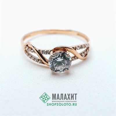 Кольцо из золота 1,74 гр., 19 размер