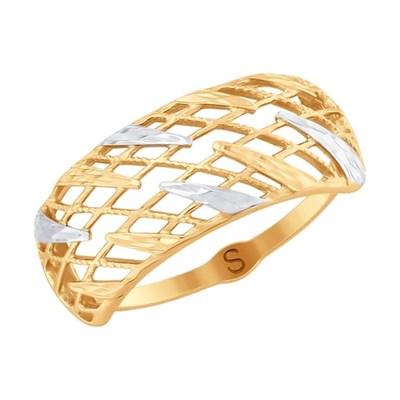 Кольцо из золота SOKOLOV с алмазной гранью