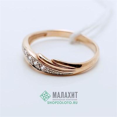 Кольцо из золота 1,53 гр., 16 размер