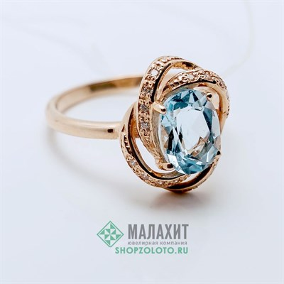Кольцо из золота 2,73 гр., 16 размер
