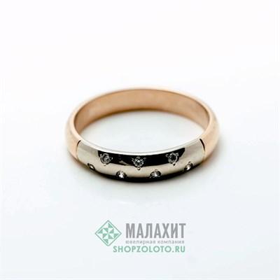 Кольцо из золота 3,41 гр., 18 размер