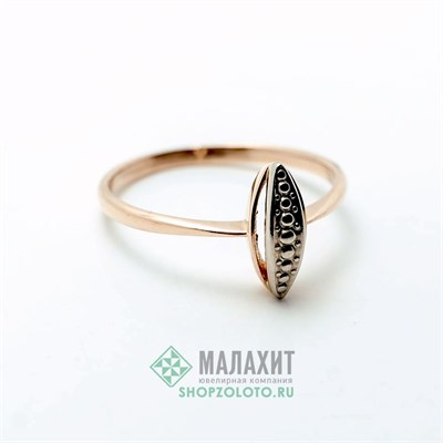 Кольцо из золота 1,98 гр., 18 размер