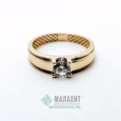 Кольцо из золота 1,64 гр., 17 размер