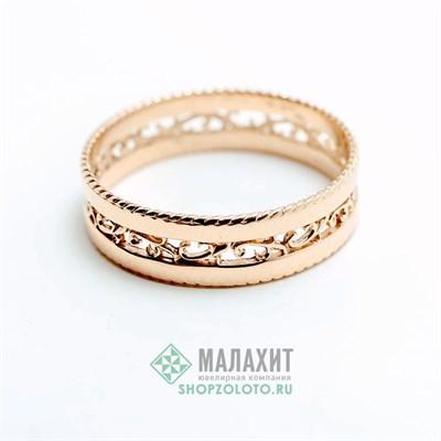 Кольцо из золота 2,7 гр., 18,5 размер