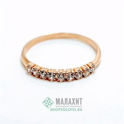 Кольцо из золота 1,29 гр., 17,5 размер