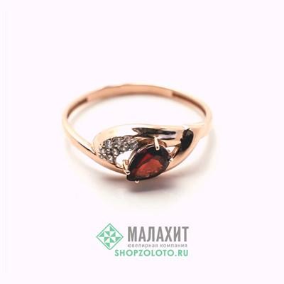 Кольцо из золота 1,61 гр., 19 размер