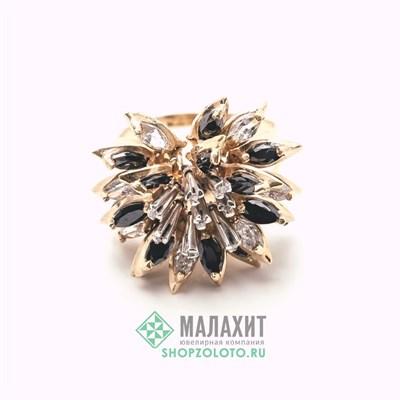 Кольцо из золота 7,73 гр. с бриллиантами, 18,5 размер