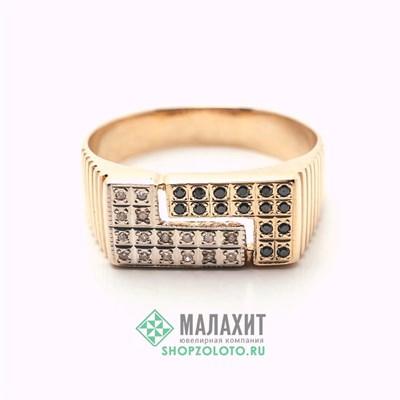 Кольцо из золота 5,99 гр. с бриллиантами, 21,5 размер