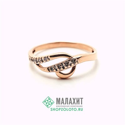 Кольцо из золота 1,78 гр., 17 размер