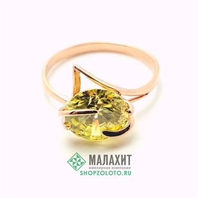 Кольцо из золота 3,49 гр., 19 размер