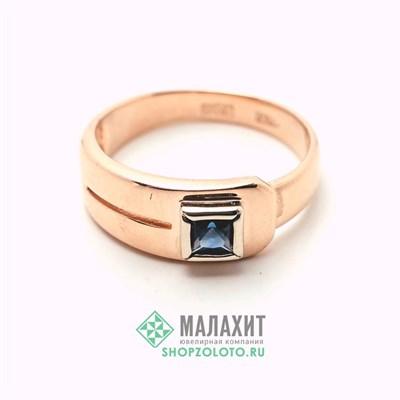 Кольцо из золота 4,39 гр., 18 размер