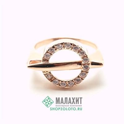 Кольцо из золота 4,29 гр., 19 размер