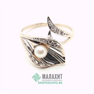 Кольцо из золота 3,59 гр., 17,5 размер