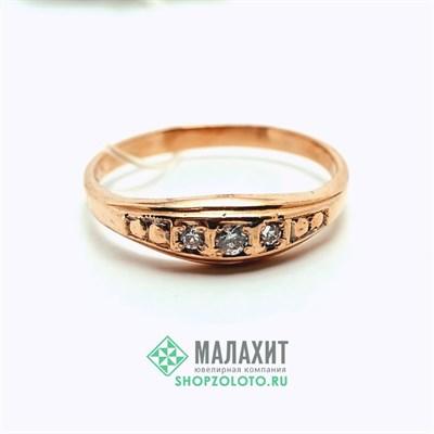 Кольцо из золота 1,84 гр., 17,5 размер