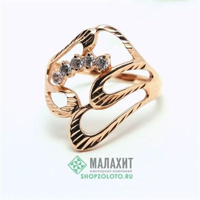 Кольцо из золота 2,83 гр., 17 размер