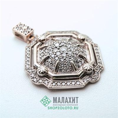 Подвеска из золота 12,81 гр. с бриллиантами