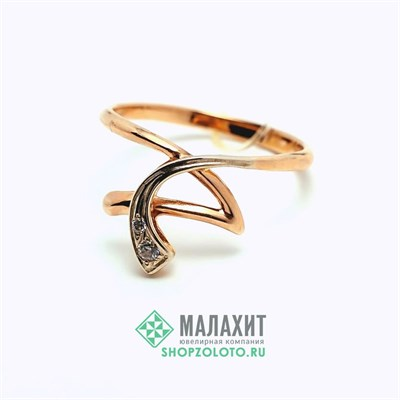 Кольцо из золота 1,79 гр., 16,5 размер