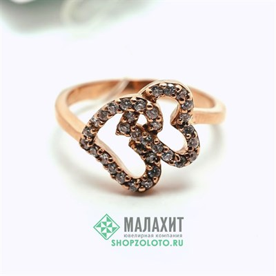 Кольцо из золота 3,48 гр., 17 размер