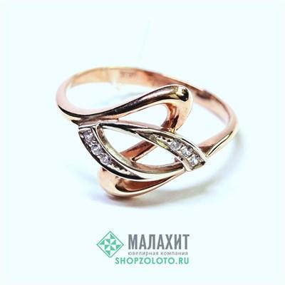 Кольцо из золота 2,26 гр., 17 размер