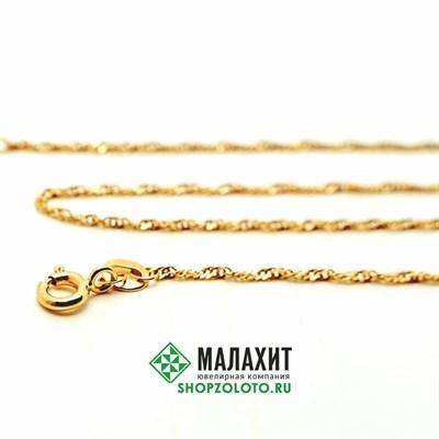 Цепь из золота 1,8 гр., 45 размер