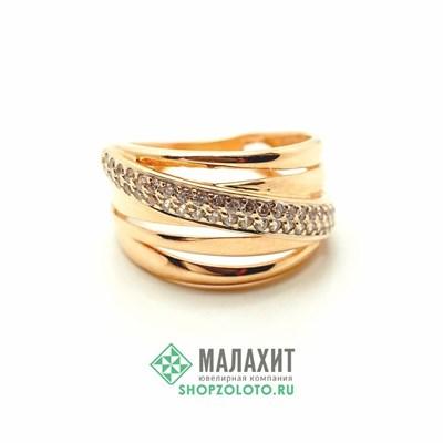 Кольцо из золота 4,09 гр., 17 размер
