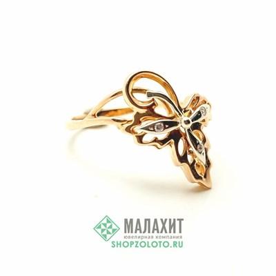Кольцо из золота 3,18 гр., 19 размер