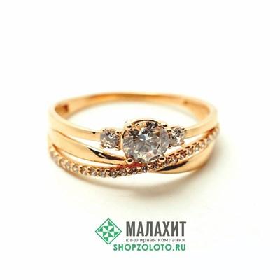Кольцо из золота 2,23 гр., 18,5 размер