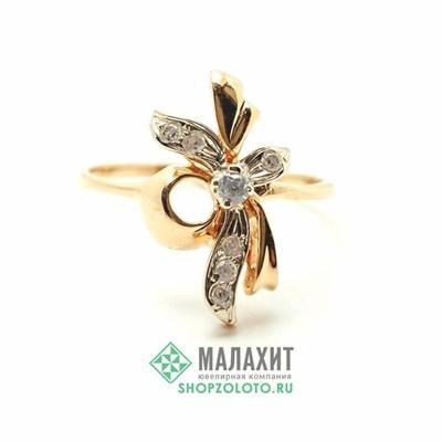 Кольцо из золота 2,42 гр., 18 размер