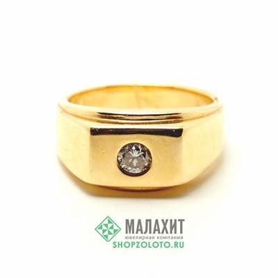 Кольцо из золота 10,96 гр. с бриллиантами, 19,5 размер