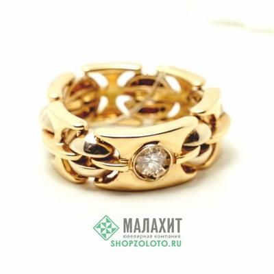 Кольцо из золота 15,43 гр. с бриллиантами, 20,5 размер