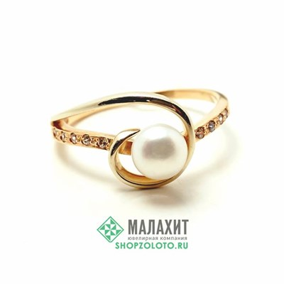 Кольцо из золота 2,58 гр., 17,5 размер