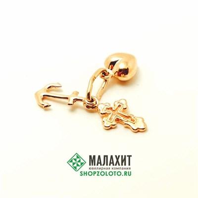 Подвеска из золота 1,03 гр.