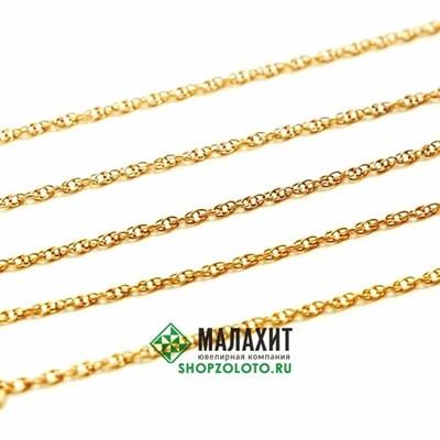 Цепь из золота 2,28 гр., 45 размер