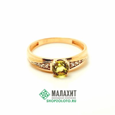 Кольцо из золота 1,5 гр., 16,5 размер
